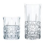 Spiegelau & Nachtmann 100719 Glasses Set of 12, Highland DIAMOND, Glass, Clear, 28.4 x 28.4 x 19 cm 12 Units