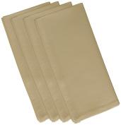 E by design 48cm x 48cm , Solid Print Napkin, Polyester, Beige