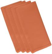 E by design 48cm x 48cm , Solid Print Napkin, Orange
