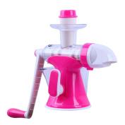 Juicer By ZAIYI Manual Juicer Household Multi-purpose Children's Mini Juicer Hand-cranked Fruit And Vegetable Juicer,Pink