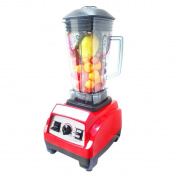 Juicer By ZAIYI Smoothie Machine Commercial Tea Shop Juicer No Residue Freshly Ground Soymilk Household Wall-cutting Machine,Red
