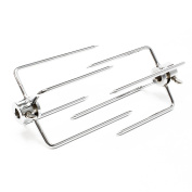 Meat clamp / Grill clamp Set 2 piec. for different skewers Ø 5-11 mm