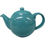 London Pottery 4 Cup Globe Teapot Bora Blue