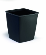 Durable Optimo Recycled Waste Basket 18 L- Black