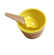 Hunpta 1 x ice cream bowl with a spoon