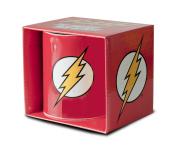 Logoshirt Mug Flash – DC Comics – Flash Logo – Red – Officially Licenced ORIGINAL Artwork