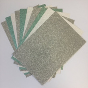 Christmas Glitter Card Pack from Pocketfold Invites LTD X 10