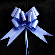 50mm Large 10 Pull Bow NAVY BLUE Ribbons Wedding Floristry Car Gift Decorations