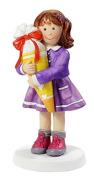 Girl with School Cone 9 cm School Late Figurine