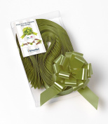 CONF. 50 Bows Rapid Ribbons – Moss Green – 31 mm Baubles Decorations Graduation