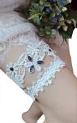 Lemandy Lace Wedding Garter Ivory Bridal Garter Vintage Wedding Ivory Garter TD015