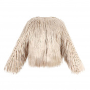 Kids Girls Faux Fur Coat ,Byste Autumn Winter Warm Outwear Thick Jacket Clothes,White/Black/Khaki/Pink