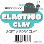 Air Dry Clay ELASTICO by Babyboon - Non Cracking Clay for perfect Imprints of your babies hand & footprint