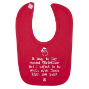It may be my 2nd Christmas but I expect to be spoilt even more than last year. Baby Feeding Bib