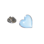 Blue Heart Lapel Pin Badge Gifts For Him