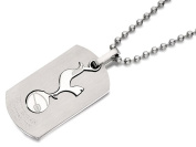 Tottenham Hotspur Fc Mens Jewellery Stainless Steel Double Dog Tag Ball Chain