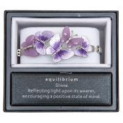 Equilibrium Bracelet - Purple Butterflies