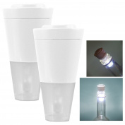 ASAB Glow Corks Bottle Lantern 2 LED Turns Wine Bottle Into Night Light Garden Bottle Lamps Mood Lighting Xmas Christmas Stocking Filler House Party Accessory