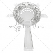 The Bars Sieve Strainer 4 Tabs, Cocktail Polycarbonate, Grey, 12 x 16 x 2 cm