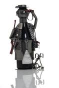 ludi-vin Metal Wine Bottle Holder HUNTER AND DOG