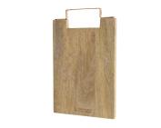 Mango Wood Chopping Board Kitchen Accessories 35.8 x 22.5 x 2.5 cm Table
