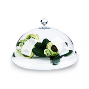 Acrylic Food Cover Fresh Food Cover Snack Display Cover Food Domes (26cm