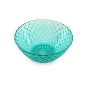 Bowl Blue crystal 15 cm