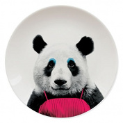 Wild Dining Panda - Made from china, the Wild Dining - Panda plate will bring a touch of fun to your dinner table