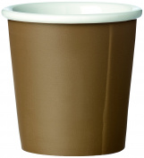 Viva Scandinavia 9102200 Espresso Cup, Porcelain, Brown, 6.3 x 6.3 x 6.3 cm