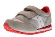 SAUCONY SC57791 JAZZ DBLE HL grey red shoes unisex baby tees