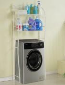 HYDT Racks Washing machine racks bathroom rack storage rack toilet stool floor frame