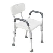 Shower chair Bath Chair Old People With Armrests Elderly Bath Stool Aluminium Alloy Non-slip Pregnant Women Bathroom Height Adjustable