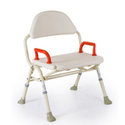 Shower chair Bath Chair Old People Shower Chair Aluminium Alloy Height Adjustable Foldable