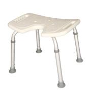 Shower chair Bath Stool Pregnant Women Bathroom Chair Elderly Aluminium Alloy Non-slip Bath Chair U Type Wash Buttocks Chair