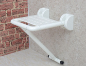Shower chair Safety Bathroom Folding Stool Old People With Legs Bath Chair Stainless Steel Shower Chair Fold Wall Chair