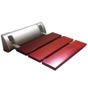 Wood Folding Wall Bench Seat Wall Chair Door Scoop Chair Stool Footstool