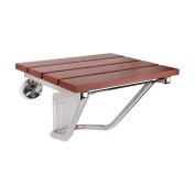 Wood Folding Wall Bench Shower Seat Wall Chair Bathroom Stool Footstool