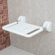 Strong Folding Wall Bench Shower Seat Wall Chair Bathroom Stool Footstool