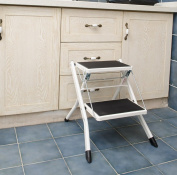 Stepladder Folding Stool Scoop Chair Bathroom Stool Outdoor Portable Small Seat Two Layer