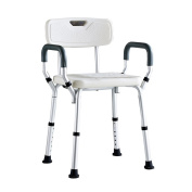 ZXLDP Bathroom Stools Old Man Shower Chair Pregnant Women Bathroom Shower Chair Disabled People Shower Stool With Armrest Backrest