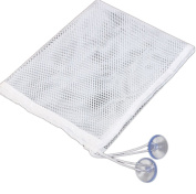 Vikenner Baby Bath Hanging Storage Bag Toy Holder Durable Mesh Organiser with Suction Cups - 37*37cm - M