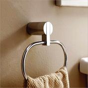 SUHANG towel ring All Round Copper Towel Ring Hanger Towel Rack Towel Hanging Ring Hardware Pendant Bathroom BathroomA