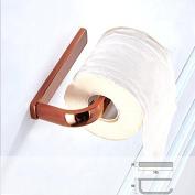 ZHFC-Rose Gold towel rack simple all copper paper reel bathroom bathroom hardware pendant