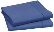 Blanc des Vosges Duvet Cover, Cotton, Royal Blue, 240 x 260 cm