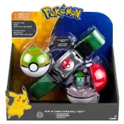 Pokemon T18889D2BULBASAUR Clip N Carry Poke Ball Belt with Bulbasaur Figure