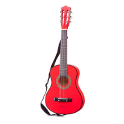 New Classic Toys - Professional Kids Toys Guitar with Bag - Red