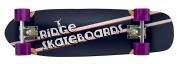 """7-Ply Maple Wood Skunkslider 67cm 90s 26"""" Retro Short Cruiser by Ridge Skateboards"""