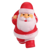 Gaddrt Slow Rising Santa Claus Toy Soft Slime Scented Squeezable Toys Stress Relief Toy Christmas Gift Toys