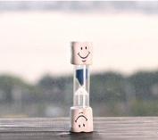 Fhouses Kids Toothbrush Timer ~ 2 Minute Smiley Sand Timer for Brushing Children's Teeth