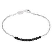 Engelsrufer Ladies Bracelet Plata Black ERB-18-PLATA-BS